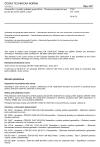 ČSN EN 13254 Geotextilie a výrobky podobné geotextiliím - Vlastnosti požadované pro použití při stavbě nádrží a hrází