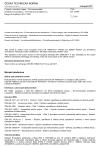 ČSN EN 16908 Cement a stavební vápno - Environmentální prohlášení o produktu - Pravidla pro produktovou kategorii doplňující EN 15804