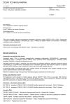ČSN CEN/TR 13201-1 Osvětlení pozemních komunikací - Část 1: Návod pro výběr tříd osvětlení