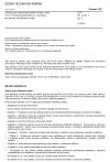 ČSN EN 12101-3 ed. 2 Zařízení pro usměrňování pohybu kouře a tepla - Část 3: Technické podmínky pro ventilátory pro nucený odvod kouře a tepla