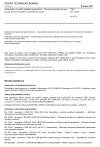 ČSN EN 13256 Geotextilie a výrobky podobné geotextiliím - Vlastnosti požadované pro použití při stavbě tunelů a podzemních staveb