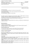 ČSN EN 61191-3 ed. 2 Osazené desky s plošnými spoji - Část 3: Dílčí specifikace - Požadavky na sestavy pájené do průchozích otvorů