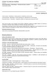 ČSN EN ISO 13299 Senzorická analýza - Metodologie - Obecný návod pro vytvoření senzorického profilu