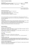 ČSN EN 62386-303 Digitální adresovatelné rozhraní pro osvětlení - Část 303: Zvláštní požadavky - Vstupní zařízení - Čidlo obsazenosti