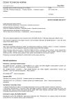 ČSN EN 62386-302 Digitální adresovatelné rozhraní pro osvětlení - Část 302: Zvláštní požadavky - Vstupní zařízení - Výhradní vstupní zařízení