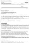 ČSN EN 10270-1 +A1 Ocelové dráty na mechanické pružiny - Část 1: Patentované pružinové dráty z nelegovaných ocelí, tažené za studena