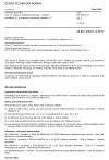 """ČSN EN 60079-13 ed. 2 Výbušné atmosféry - Část 13: Zařízení chráněná místností s vnitřním přetlakem """"p"""" a místností s nuceným větráním """"v"""""""