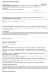 ČSN ISO 13111-1 Inteligentní dopravní systémy (ITS) - Použití přenosných a mobilních zařízení k podpoře poskytování služeb ITS pro cestující - Část 1: Obecné informace a definice případů užití