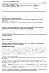 ČSN EN 50124-1 ed. 2 Drážní zařízení - Koordinace izolace - Část 1: Základní požadavky - Vzdušné vzdálenosti a povrchové cesty pro všechna elektrická a elektronická zařízení