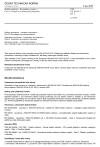ČSN EN 50124-2 ed. 2 Drážní zařízení - Koordinace izolace - Část 2: Přepětí a ochrana před přepětím