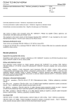 ČSN EN 14209 ed. 2 Předtvarované sádrokartonové lišty - Definice, požadavky a zkušební metody