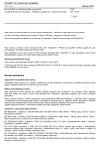 ČSN EN 14353 Kovové lišty a ozdobné profily pro použití se sádrokartonovými deskami - Definice, požadavky a zkušební metody