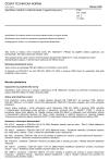 ČSN EN 15824 ed. 2 Specifikace vnějších a vnitřních omítek s organickými pojivy