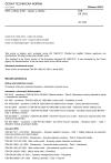 ČSN EN 1982 Měď a slitiny mědi - Ingoty a odlitky