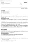ČSN EN 61810-2 ed. 3 Elektromechanická elementární relé - Část 2: Spolehlivost