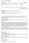 ČSN EN 60793-1-33 ed. 2 Optická vlákna - Část 1-33: Měřicí metody a zkušební postupy - Náchylnost ke korozi pnutím