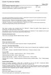 ČSN EN 15550 Krmiva: Metody vzorkování a analýz - Stanovení kadmia a olova po tlakovém rozkladu metodou atomové absorpční spektrometrie s grafitovou píckou (GF-AAS)