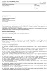 ČSN EN 13480-2 Kovová průmyslová potrubí - Část 2: Materiály