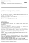 ČSN EN 16922 Železniční aplikace - Pozemní služby - Vybavení k vyprazdňování tekutého odpadu z vozidla