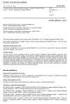 ČSN EN 62056-6-1 ed. 3 Výměna dat pro měření elektrické energie - Soubor DLMS/COSEM - Část 6-1: Systém identifikace objektů (OBIS)