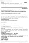 ČSN EN ISO 3210 Anodická oxidace hliníku a jeho slitin - Posouzení kvality utěsněných anodických oxidových povlaků měřením úbytku hmotnosti po ponoření do roztoku (roztoků) kyseliny