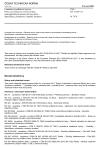 ČSN EN 13329 +A1 Laminátové podlahové krytiny - Prvky s povrchovou vrstvou na bázi reaktoplastických aminových pryskyřic - Specifikace, požadavky a metody zkoušení