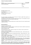 ČSN EN 50134-2 ed. 2 Poplachové systémy - Systémy přivolání pomoci - Část 2: Aktivační zařízení