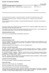ČSN EN 12791 +A1 Chemické dezinfekční přípravky a antiseptika - Chirurgická dezinfekce rukou - Metoda zkoušení a požadavky (fáze 2, stupeň 2)