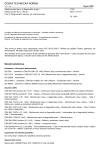 ČSN ISO 13373-9 Monitorování stavu a diagnostika strojů - Monitorování stavu vibrací - Část 9: Diagnostické metody pro elektromotory