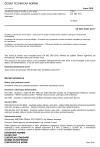 ČSN EN ISO 2931 Anodická oxidace hliníku a jeho slitin - Posouzení kvality utěsněných anodických oxidových povlaků měřením admitance