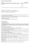 ČSN EN 1776 Zařízení pro zásobování plynem - Systémy měření plynu - Funkční požadavky