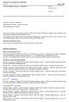 ČSN EN 1307 +A2 Textilní podlahové krytiny - Klasifikace