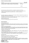 ČSN EN 17032 Zchlazovací a zmrazovací skříně s intenzivní cirkulací vzduchu pro profesionální použití - Klasifikace, požadavky a zkušební podmínky