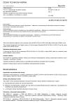 ČSN EN IEC 61340-4-5 ed. 2 Elektrostatika - Část 4-5: Standardní zkušební metody pro specifické aplikace - Metody charakterizování elektrostatické ochrany obuví a podlahou v kombinaci s osobou