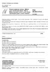 ČSN EN ISO 8178-2 Pístové spalovací motory - Měření emisí výfukových plynů - Část 2: Měření plynných emisí a emisí částic výfukových plynů v místě instalace