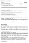 ČSN EN 1329-1 +A1 Plastové potrubní odpadní systémy (pro nízkou a vysokou teplotu) uvnitř budov - Neměkčený polyvinylchlorid (PVC-U) - Část 1: Požadavky na trubky, tvarovky a systém