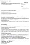 ČSN EN IEC 62485-1 Bezpečnostní požadavky pro akumulátorové baterie a bateriové instalace - Část 1: Obecné bezpečnostní informace