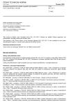 ČSN EN 115-1 Bezpečnost pohyblivých schodů a pohyblivých chodníků - Část 1: Konstrukce a montáž