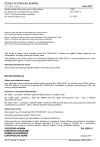 ČSN EN 10263-5 Ocelové dráty válcované, tyče a dráty tažené pro pěchování a protlačování za studena - Část 5: Technické dodací podmínky pro korozivzdorné oceli