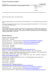 ČSN ETSI EN 303 560 V1.1.1 Digitální televizní vysílání (DVB) - Systémy titulkování TTML