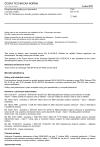 ČSN EN 81-58 Bezpečnostní předpisy pro konstrukci a montáž výtahů - Část 58: Přezkoušení a zkoušky požární odolnosti šachetních dveří