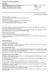 ČSN EN 62271-212 Vysokonapěťová spínací a řídicí zařízení - Část 212: Kompaktní rozvodné zařízení pro elektrickou distribuční stanici (CEADS)