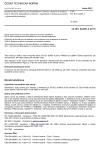 ČSN EN IEC 62485-4 Bezpečnostní požadavky pro akumulátorové baterie a bateriové instalace - Část 4: Olověné akumulátorové baterie s regulačním ventilem pro použití v přenosných přístrojích