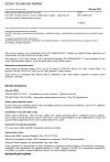 ČSN IEC 60050-692 Mezinárodní elektrotechnický slovník - Část 692: Výroba, přenos a rozvod elektrické energie - Spolehlivost a kvalita služby elektrizačních soustav