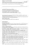 ČSN EN 14399-10 Sestavy vysokopevnostních konstrukčních šroubových spojů pro předpínání - Část 10: Systém HRC - Sestavy šroubu a matice s kalibrovaným předpětím