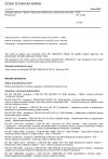 ČSN EN 13684 Zahradní zařízení - Ručně vedené provzdušňovače a prořezávače trávníku - Bezpečnost