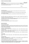 ČSN EN 13880-10 Zálivky za horka - Část 10: Zkušební metoda pro stanovení adheze a koheze po opakovaném kontinuálním protahování a stlačování