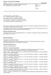 ČSN EN 50174-1 ed. 3 Informační technologie - Instalace kabelových rozvodů - Část 1: Specifikace a zabezpečení kvality