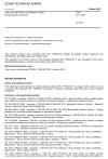 ČSN EN 17059 Linky pro galvanizaci a anodickou oxidaci - Bezpečnostní požadavky