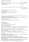 ČSN EN ISO 4623-1 Nátěrové hmoty - Stanovení odolnosti proti nitkové korozi - Část 1: Ocelové podklady